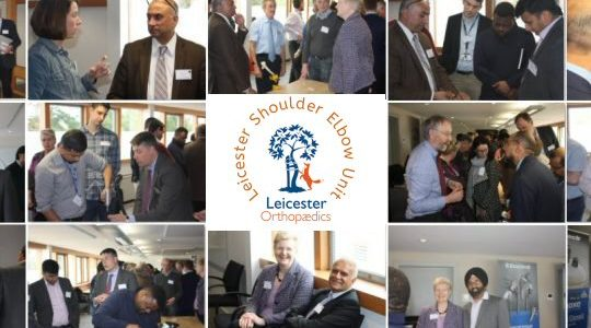 19th 20th April 2018 – 9th Leicester Shoulder Trauma Symposium