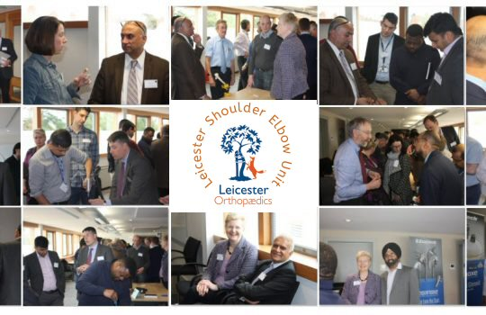 19th 20th April 2018 – 9th Leicester Shoulder Trauma Symposium